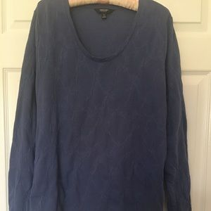 Simply Vera tunic bluish grey long sleeves XL